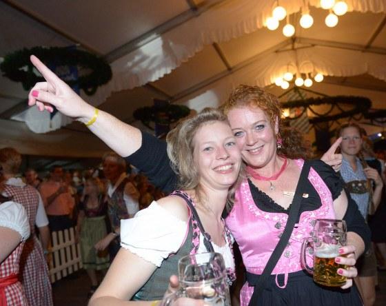 Gaudi pur herrschte beim Oktoberfest auf der Sürenheide.