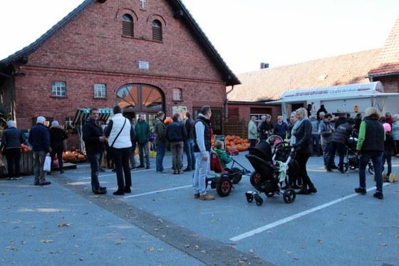 Kürbisfest auf Hof Kuhre in Herzebrock 2015