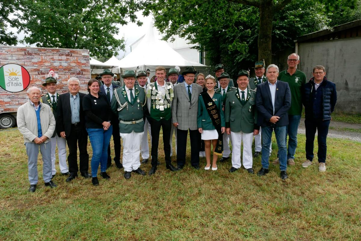 Ihr Schützenfest konnte die Schützenbruderschaft Enniger am letzten August-Wochenende nicht feiern, aber ihre Generalversammlung fand statt.