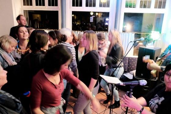 Kneipenmusikfestival Honky Tonk am 19. November 2016 in Warendorf. Bild: Poschmann