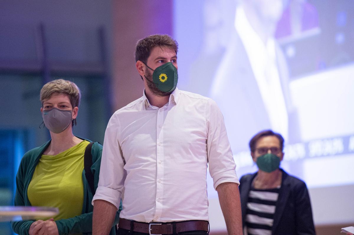 Achtungserfolg: Sebastian Stölting (Grüne) holte fast 13 Prozent der Erststimmen.