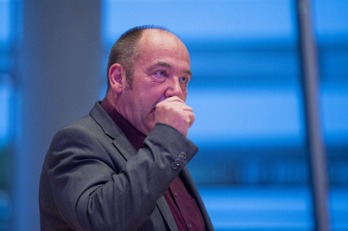Verpasste den Einzug in den Bundestag: Axel Nußbaum von der AfD. Er holte etwas mehr als sieben Prozent der Stimmen.