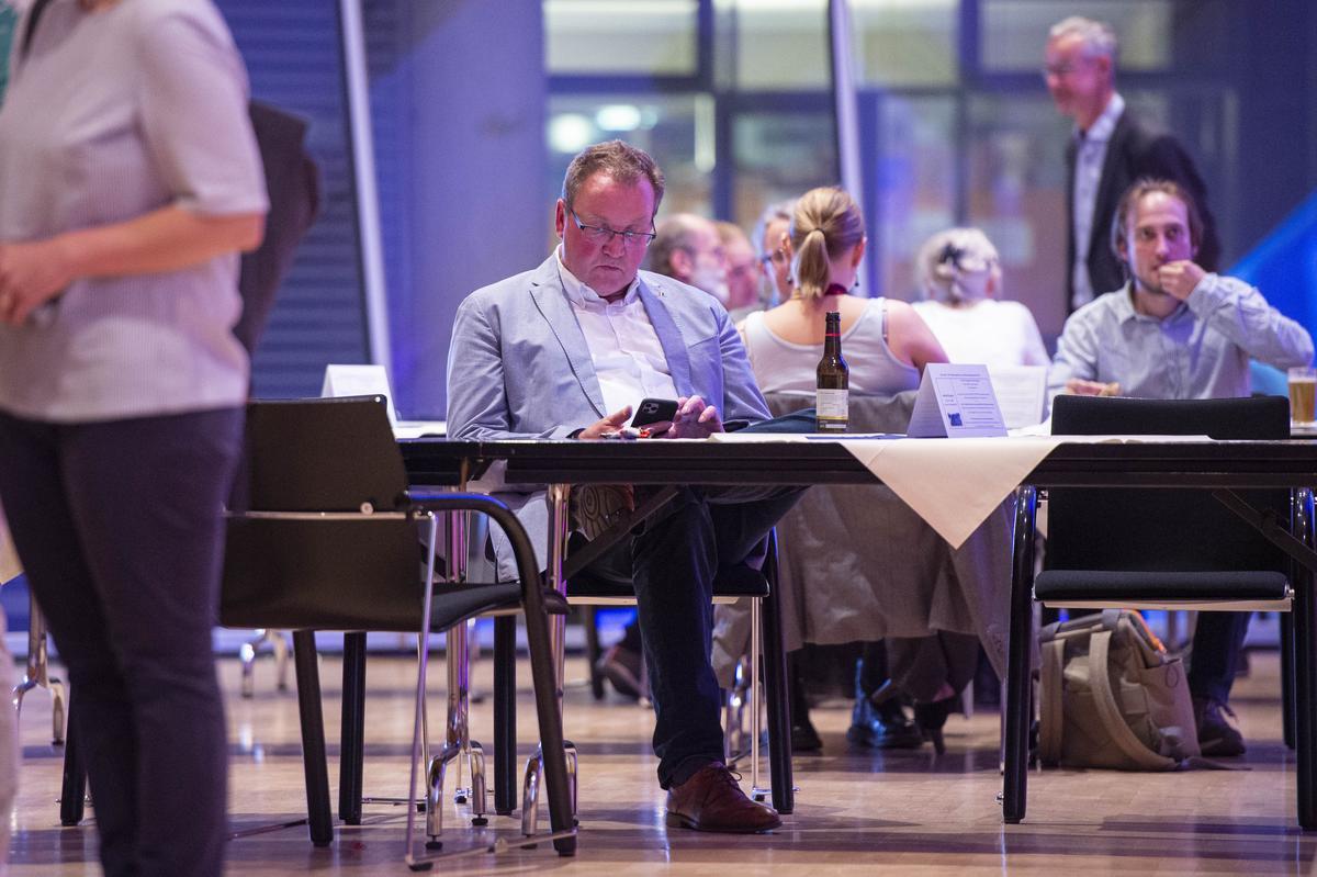 Verfolgte das Geschehen im Kreishaus: Dirk Holtkamp, Vorsitzender der FWG-Fraktion im Kreistag.