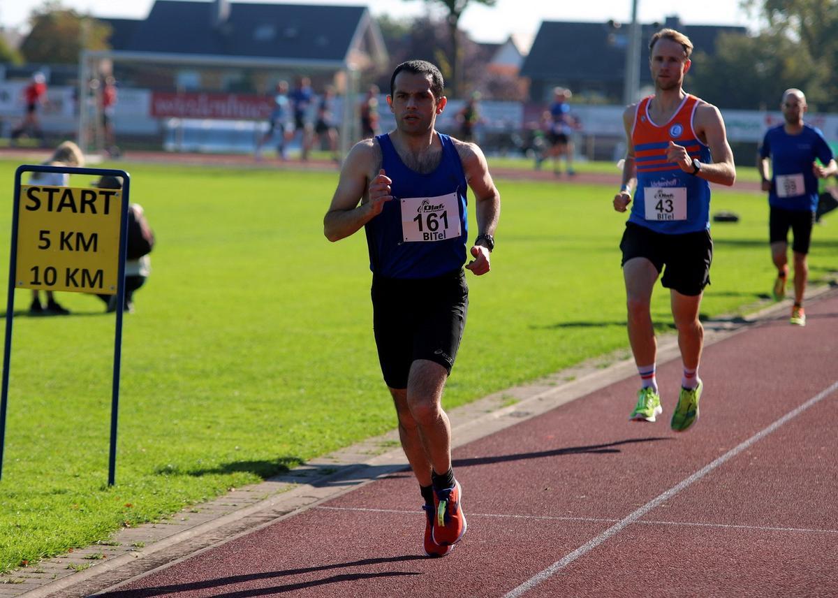 Den zweiten Platz über zehn Kilometer belegte Murat Bozduman. Fotos: Kreisel