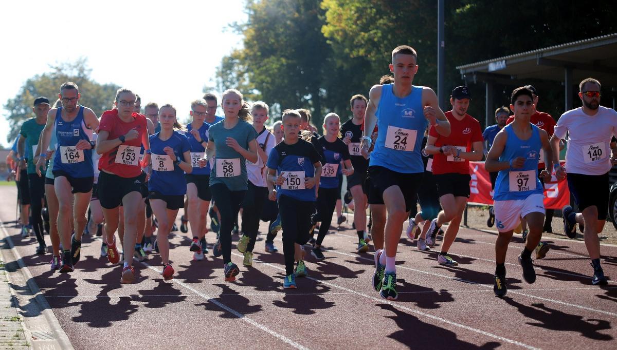 Startschuss für den Fünf-Kilometer-Lauf. Fotos: Kreisel